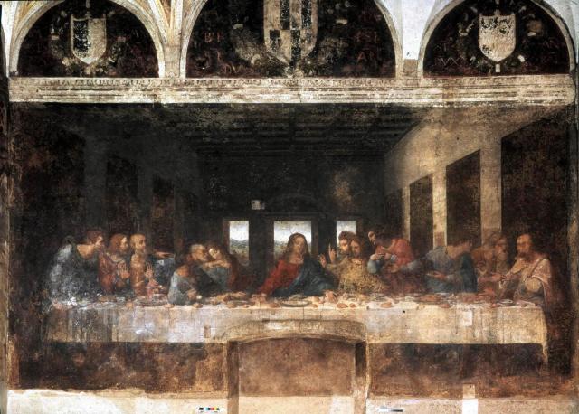 베이비트리 최후의 만찬 그림을 다빈치가 고친 까닭