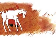 [서천석의 내가 사랑한 그림책] 수호의 하얀 말