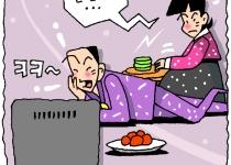 """""""추석 때 TV만 보는 남편, 가장 큰 스트레스"""""""