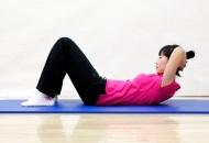 뱃살과 요통을 함께 코어운동 3- 복부강화 운동