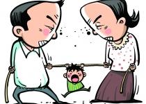아이 때문에 부부싸움? 부모 탓에 아이 '멍'
